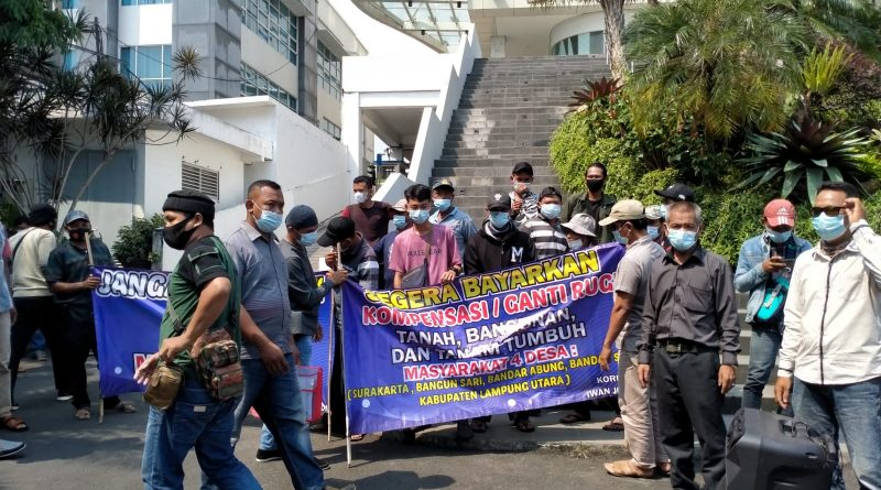 Masyarakat 4 Desa Akan Gelar Aksi Di Gardu Induk PLN Kotabumi