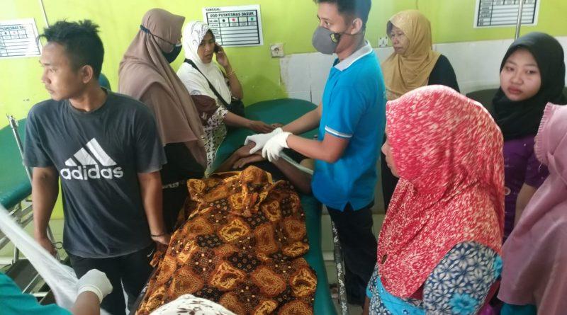 Seseorang Meninggal Dunia Diduga Akibat Tekanan Darah Tinggi Atau Serangan Jantung Di Dalam Pasar Dasuk