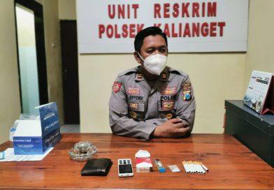 Polsek Kalianget Tangkap Pemuda Pemakai Sabu-Sabu